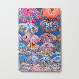 Umbrella Canopy 1 Metal Print