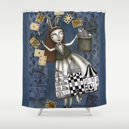 The Magic Act Shower Curtain