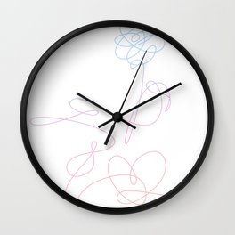BTS Love Yourself Complete Flower Wall Clock