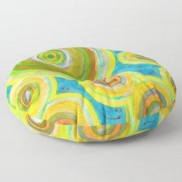Circular Sky Lights Floor Pillow