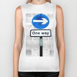 One Way Biker Tank