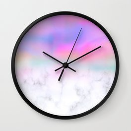 Ombre Pastel Wall Clock