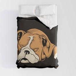 English Bulldog | Dog Lover Duvet Cover