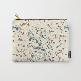 Paint Splatter Terazzo Carry-All Pouch