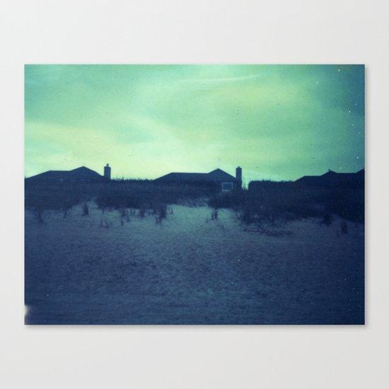 Beach house Canvas Print