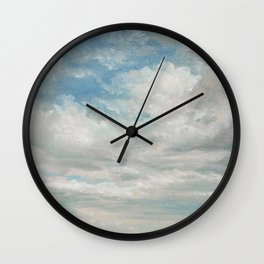Clouds Painting, 1922 - John Constable Wall Clock
