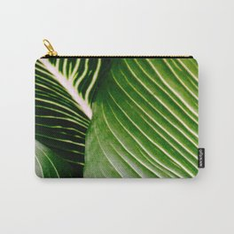 Big Leaves - Tropical Nature Photography Carry-All Pouch