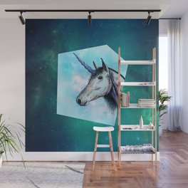 Unicorns only have fun Wall Mural