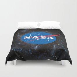 Nasa shirt Officially Licensed NASA Logo gift ideas Duvet Cover