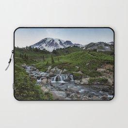 Edith Creek and Mount Rainier Laptop Sleeve