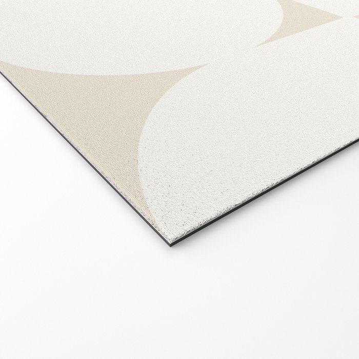 Abstract Shapes - Neutral White I Welcome Mat
