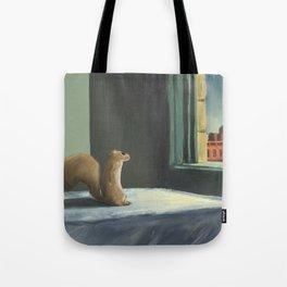 Sunday Morning Squirrel Tote Bag