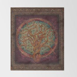 The Great Tree Throw Blanket
