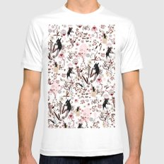 crafty souls MEDIUM Mens Fitted Tee White