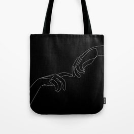 Touch in dark Tote Bag