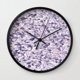 Road Speaks - Purple Wall Clock