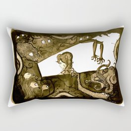 Are you really Alone? Rectangular Pillow