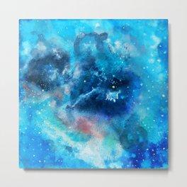 Imaginary Nebula Metal Print