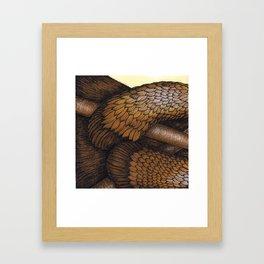The Drumming Otter Part 2 Framed Art Print