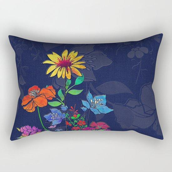 Flower Tales 6 Rectangular Pillow