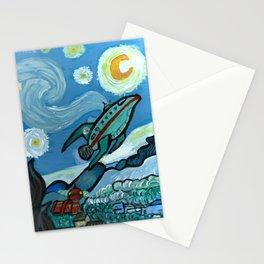 Starry Flight Stationery Cards