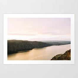 Sunset at the Gorge Art Print