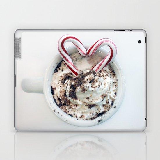 i heart hot chocolate Laptop & iPad Skin