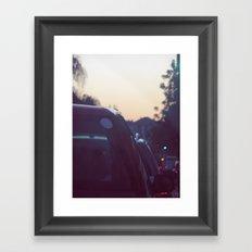 08:30 Framed Art Print