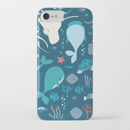 Sea creatures 004 iPhone Case