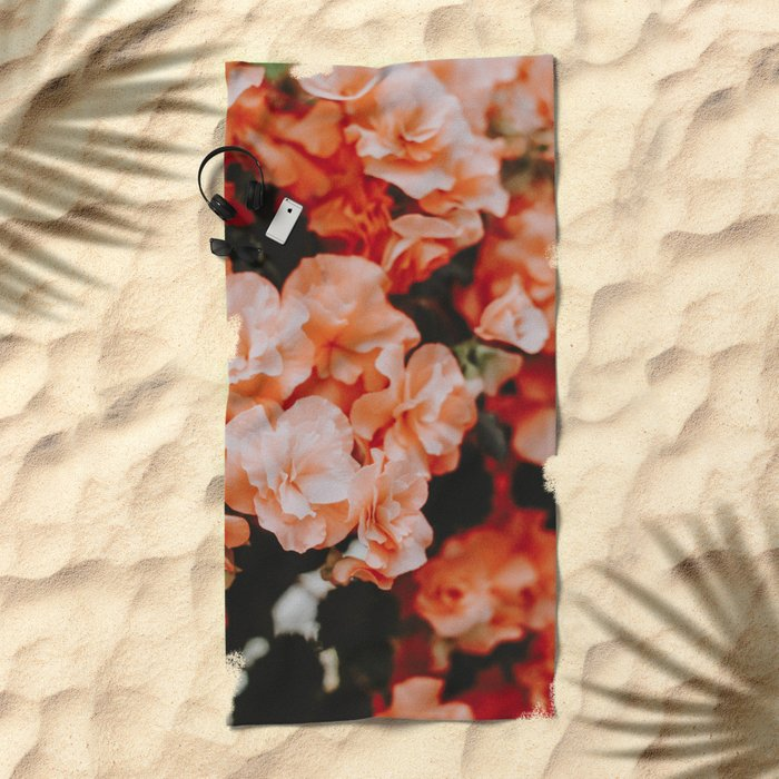Spring Flowers II Beach Towel