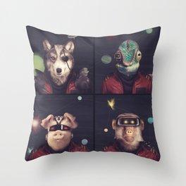Star Team - Pirates of Lylat Throw Pillow