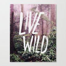 Live Wild: Oregon Canvas Print