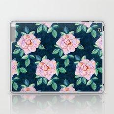 Simple Pink Rose Oil Painting Pattern Laptop & iPad Skin