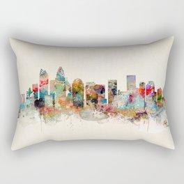 charlotte north carolina Rectangular Pillow