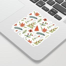CHRISTMAS ELEMENTS PATTERN Sticker