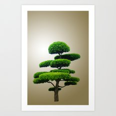 Just a tree Art Print
