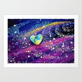 Celestial Love Art Print