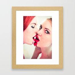 Just A Taste Framed Art Print