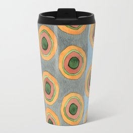 Circles in Front of the Beach Travel Mug