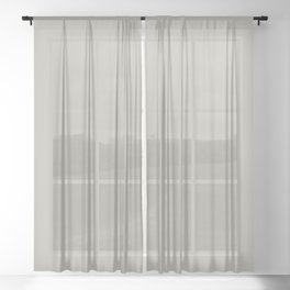 PUSSYWILLOW Neutral solid color Sheer Curtain