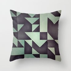 :: geometric maze VIII :: Throw Pillow
