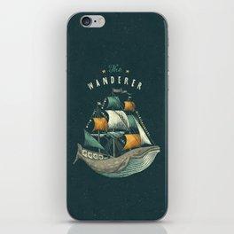 Whale | Petrol Grey iPhone Skin