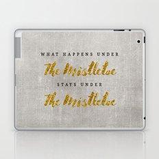 What Happens under The Mistletoe Laptop & iPad Skin