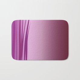 design wild lines ethnic pink Bath Mat