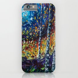 Moonlight Sonata with a Palette Knife iPhone Case