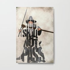 Gandalf - The Lord of the Rings Metal Print