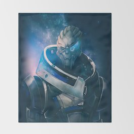 Garrus Vakarian - The Archangel Throw Blanket