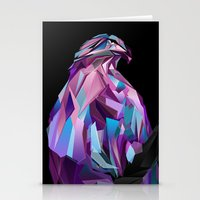 eagle Stationery Cards featuring Eagle by Jonathan Vizcuna