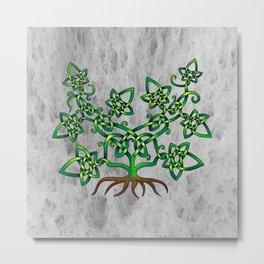 Ivy Knot Metal Print
