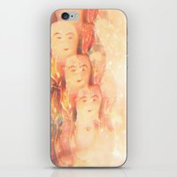 angels iPhone & iPod Skins featuring Angels by Johnny Cashley